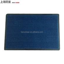 PP rubber door mat with pvc backing outdoor mat