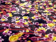 burn--out printed spandex velvet (imitate south korea velvet)