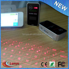 Original Mini Wireless Projection Virtual Bluetooth Laser Keyboard for Smart phone PC Tablet Laptop