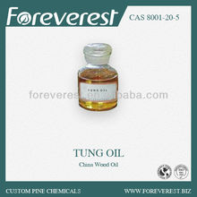 Tung oil, China wood oil, preservative of wood ships