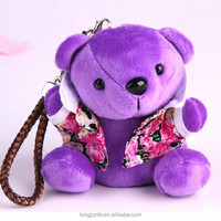 New plush bear 5200mah power bank travel power bank super fast mobile phone charger