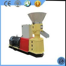 Special hot-sale log grass sawdust widely used compressor for sale flat die wood pellet machine