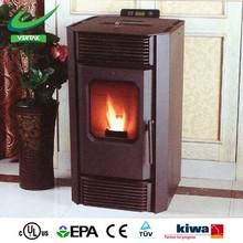 Indoor freestanding fireplace, pellet burner fireplace