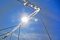 Linear frensnel, parabolic trough, CSP solar collector tube for solar power energy system