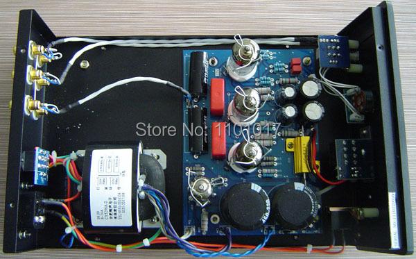 XiangSheng 708B Tube Pre-Amplifier headphone output HIFI EXQUIS Lamp Preamps
