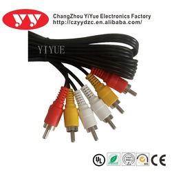 High quality 3 RCA cable to 3RCA cable