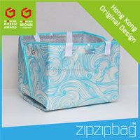 Folding Nylon and Polyester Standard Size Tote Bag