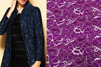 Three layer Lace fabric, Thick lace fabric