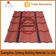 Guangzhou roof sheet galvanized steel stone coated steel roofing tile