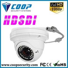 Electrónico de la cámara panorámica hd-sdi 1080p domo cctv cámara de metal ir cámara domo