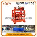 Blocos de concreto que faz a máquina, manual do bloco que faz a máquina, máquina de fazer bloco de guangzhou