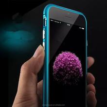 New Design Arc Aluminum Alloy Metal Bumper Cell Phone Case For iphone 6 plus