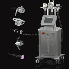 Home use or beauty salon 5 in 1 bio &Cavitation & Vacuum & RF cavitation Machine, cavitation rf