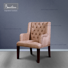 Classical chestfield design living room chair