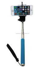Basic Selfie Stick Monopod Extendable Self Portrait Handheld With Holder With 1/4 Inch Screw Wholesale