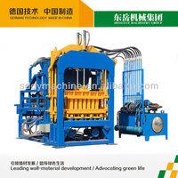 cement sand brick making machine QT4-15 hollow concrete cement block plant