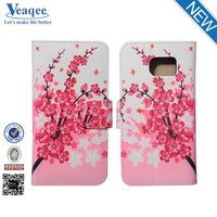 Veaqee wholesale custom cell phone case card holder flip cover for mobile