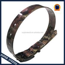 Camouflage TPU dog collar and leads