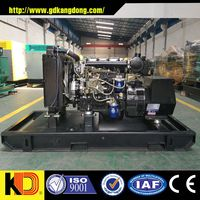 Open Type Power Diesel Generator 10kw CE Approved for Shopping mall