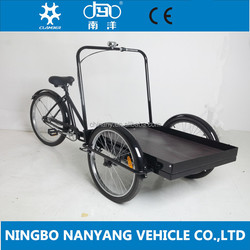 26 inch steel cargo tricycle / china cargo tricycle / heavy duty cargo tricycle with cheap price