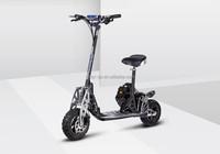 2015 Hot EVO Uberscoot folding 2 wheel mini gas motor scooter with CE/EPA certificate