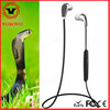 new wireless bluetooth 4.1 China sports headset stereo earbuds headphones in-ear earphone sweatproof for mobile phones
