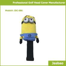 Knitted Cute Cartoon Figure Golf Club Head Cover