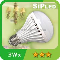 3w led bulb, Led Bulb Lights CE&RoHS LED Bulb