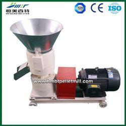 500-1000 kg/hr pellet press with diesel motor