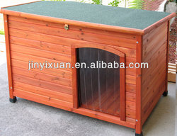 Garden Puppy House Wooden Dog Kennel / Dog House for Large Dog