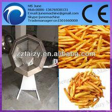 Octogonal snacks aromatizantes máquina/disco de maní frito máquina condimento/tambor 0086 13676938131