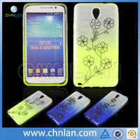 Nice flower pattern non-slip TPU cover Cases for Samsung Galaxy Note 3 mini Lite Neo N7505 N7506V