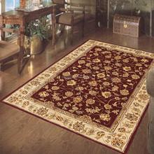 Persian design hand tufted wool carpet