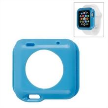 2015 new product solid color soft TPU for apple watch case 42mm with nice package