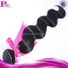cheap body wave 100% human peruvian virgin hair attachment for braids