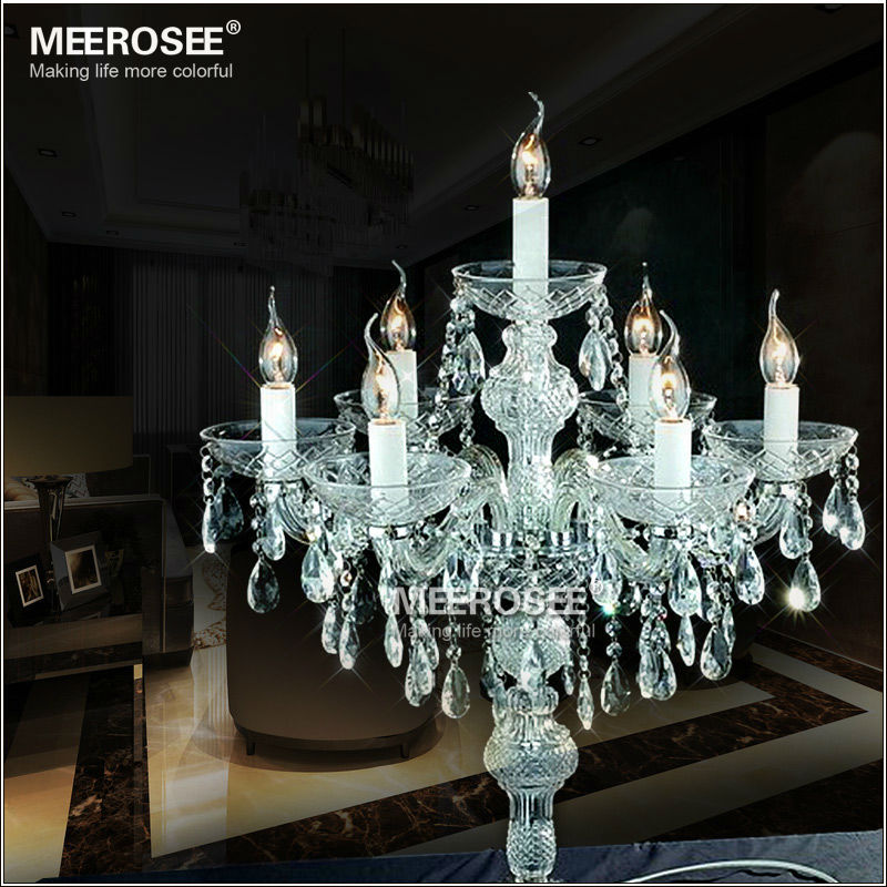 Wholesale crystal table top chandelier candelabra wedding decoration md2630 3 mozeypictures Choice Image