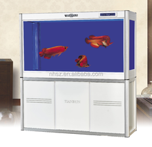 Luxury aquarium big glass arowana aquarium