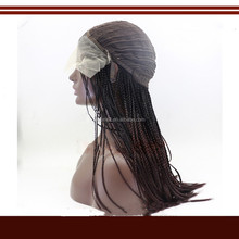 Braided Wig box braids one size elastic stretchable cap synthetic T-colors wigs