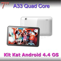 Special offer for 7 inch 16GB tablet pc quad core A33 high speed OEM factory