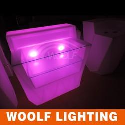 modern bar counter /led I furniture/glowing led bar table