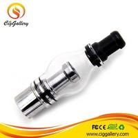 Ciggallery portable dry herb vaporizer drip tips 510 vaporizer wax atomizer glass bulb atomizer