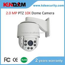 1080P Onvif PTZ IP Camera High Speed Dome IP Camera Real time Waterproof IP66