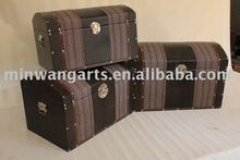 2011 hot sale wooden trunk with handicraft/China