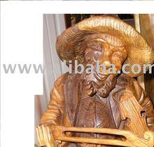 Wood Hand Made figures