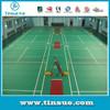 Official Badminton flooring supplier of Spanish National Team