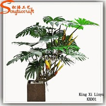 hot new products for 2015 factory Wholesale cheap indoor decorative artificial fake plastic mini plants and trees for home decor