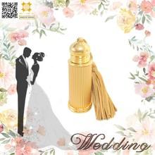 High end arabic dubai perfume bottle wedding favor metal oil bottle