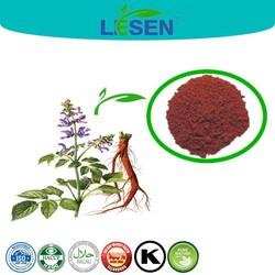 100% Pure Natural Salvia Miltiorrhiza Root Extract 10:1 / Tanshinone IIA 5%-98% / Salvianolic acid B 8%-75%