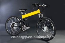 bright color folding ebike with EN15194