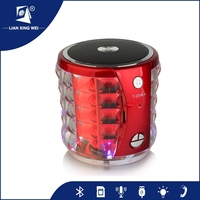 portable mini brand bluetooth speaker subwoofer with Built-in Rechargeable battery and Microphone